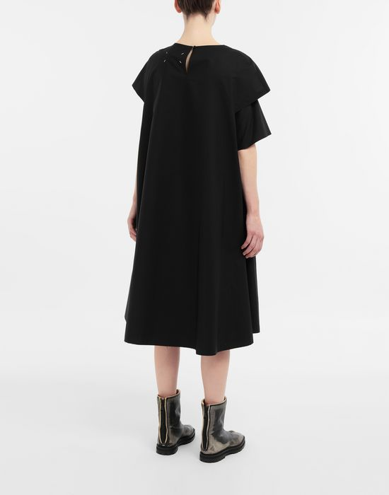 MAISON MARGIELA Décortiqué gathered midi dress 3/4 length dress [*** pickupInStoreShipping_info ***] e