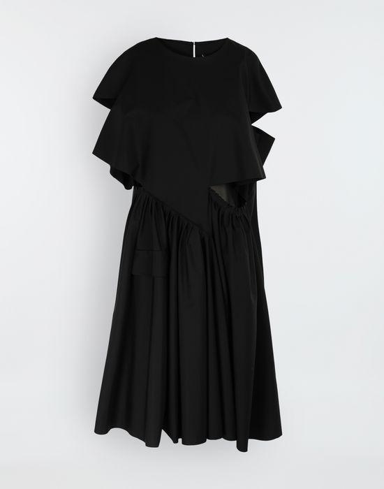 MAISON MARGIELA Décortiqué gathered midi dress 3/4 length dress [*** pickupInStoreShipping_info ***] f