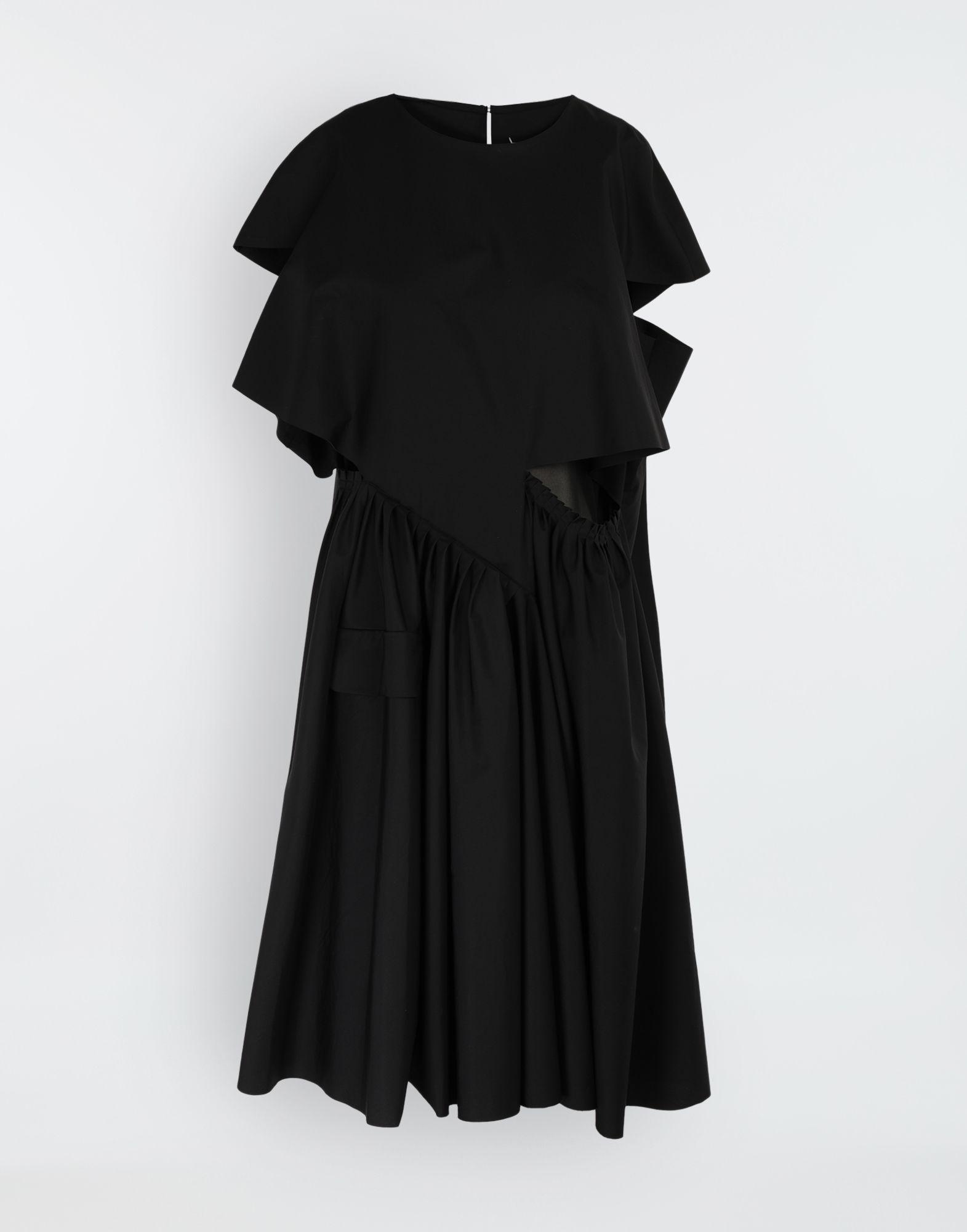 MAISON MARGIELA Décortiqué gathered midi dress 3/4 length dress Woman f