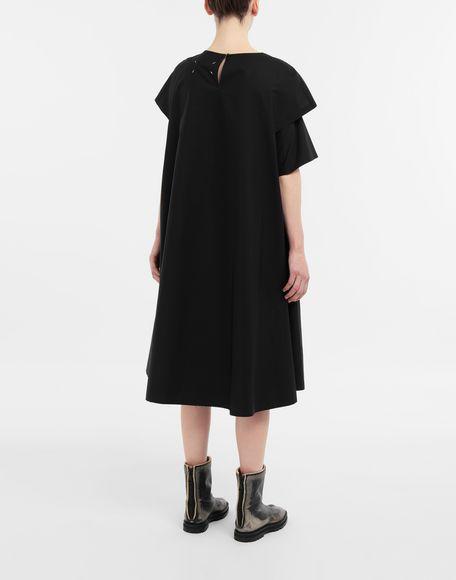 MAISON MARGIELA Décortiqué gathered midi dress 3/4 length dress Woman e