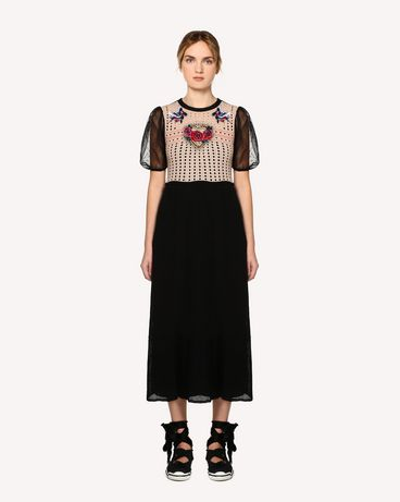 REDValentino RR0KDA08HHT D77 Knit Dress Woman f