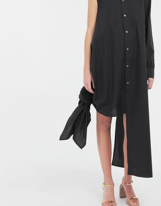 MM6 MAISON MARGIELA Asymmetrical long shirt dress Long dress [*** pickupInStoreShipping_info ***] a