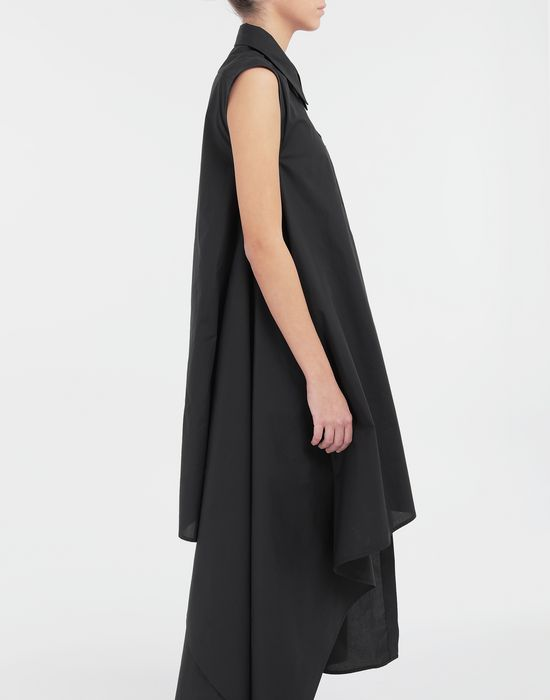 MM6 MAISON MARGIELA Asymmetrical long shirt dress Long dress [*** pickupInStoreShipping_info ***] b