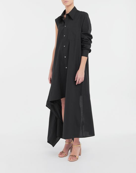 MM6 MAISON MARGIELA Asymmetrical long shirt dress Long dress [*** pickupInStoreShipping_info ***] d