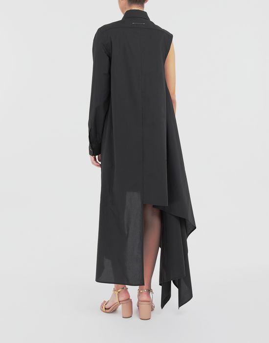 MM6 MAISON MARGIELA Asymmetrical long shirt dress Long dress [*** pickupInStoreShipping_info ***] e