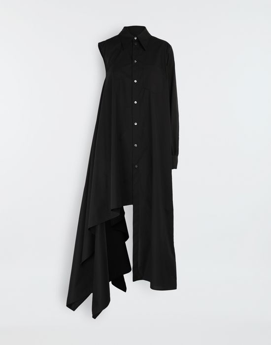 MM6 MAISON MARGIELA Asymmetrical long shirt dress Long dress [*** pickupInStoreShipping_info ***] f