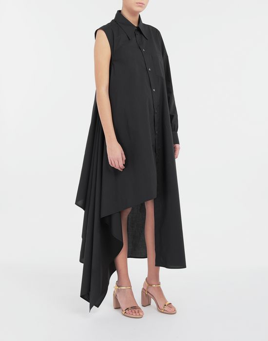 MM6 MAISON MARGIELA Asymmetrical long shirt dress Long dress [*** pickupInStoreShipping_info ***] r