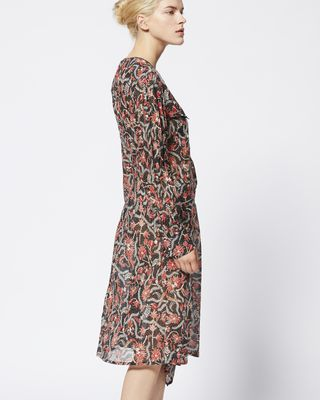 ISABEL MARANT ÉTOILE MIDI DRESS Woman ELKA dress r