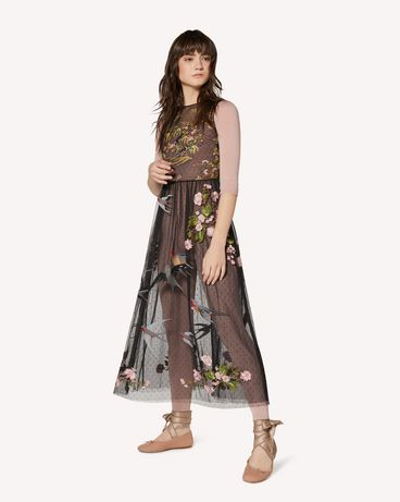 REDValentino SR0VA05D4KP N78 Long dress Woman d