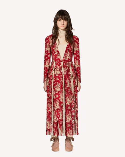 REDValentino Long and midi dresses Woman SR0VAH634JQ L58 f