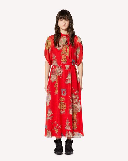 REDValentino Long and midi dresses Woman SR0VAI554HT L58 f