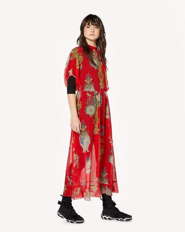REDValentino SR0VAI554HT L58 Printed dress Woman d