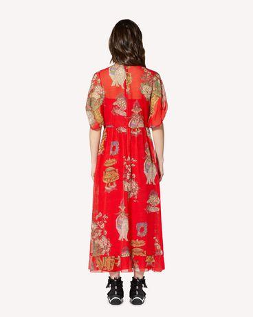 REDValentino SR0VAI554HT L58 Printed dress Woman r