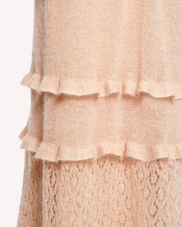REDValentino モヘア&コットンニット ドレス