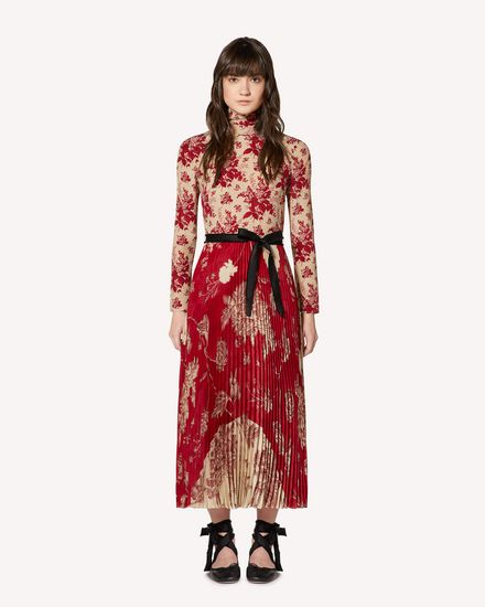 REDValentino Long dress Woman SR0VAI204K1 A03 f