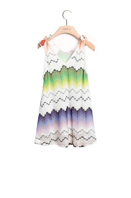 MISSONI KIDS Платье Белый Для Женщин - Обратная сторона
