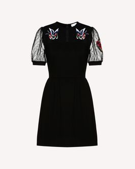 REDValentino Knit Dress Woman RR3KDA27KSU 0NO a