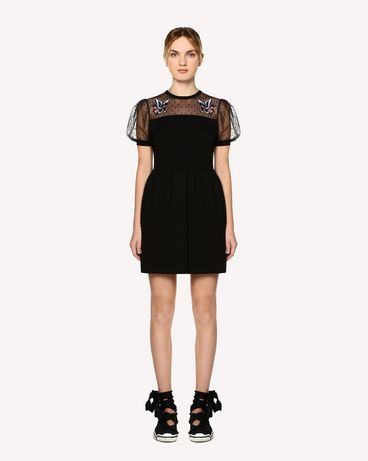REDValentino RR0MJ01HQNK 0NO Short dress Woman f