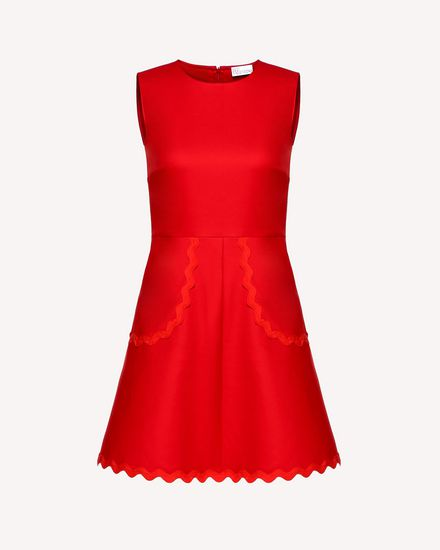 REDValentino Short dress Woman RR0VAE103M7 MM0 a