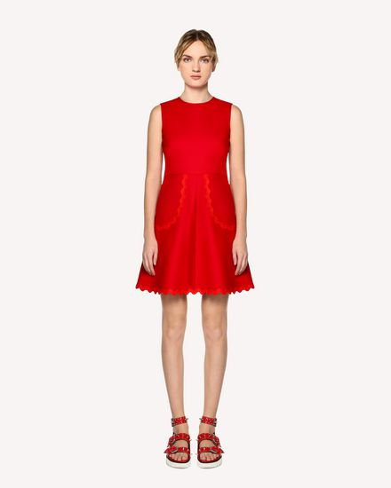 REDValentino Short dress Woman RR0VAE103M7 MM0 f
