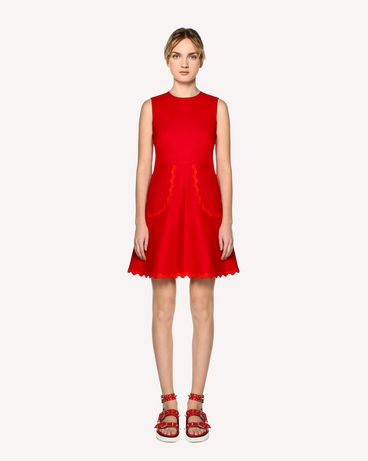 REDValentino RR0VAE103M7 MM0 Short dress Woman f