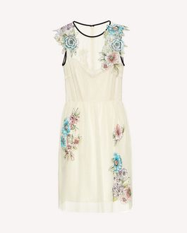 REDValentino Printed dress Woman RR3VAA30UTU GZ7 a