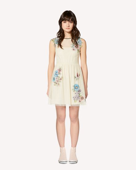 REDValentino Short dress Woman RR0VA01YCFD A03 f