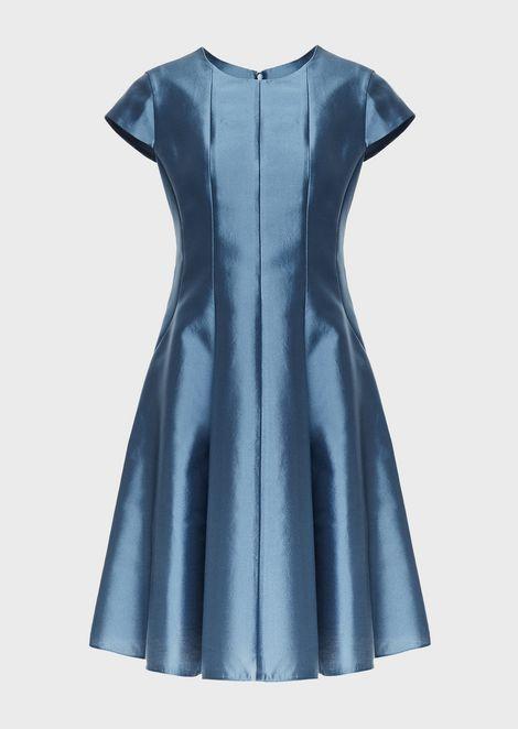 Silk and cotton radzimir flared dress