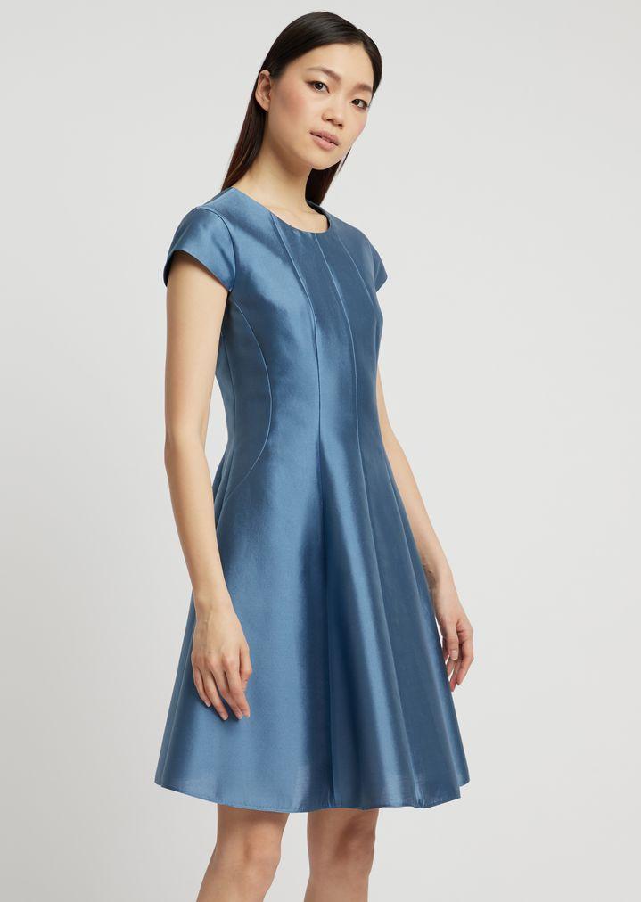 negozi popolari la vendita di scarpe acquista lusso Silk and cotton radzimir flared dress