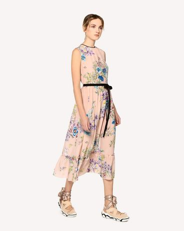 REDValentino RR0VAC43JTD 377 Printed dress Woman d