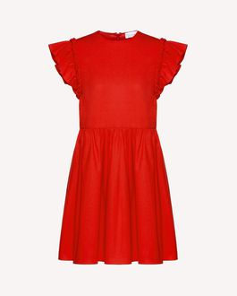 REDValentino Knit Dress Woman RR0KDA42KZH WE0 a