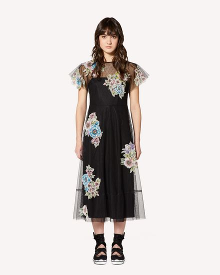 REDValentino Long dress Woman RR0VA01XCFD 0NO f