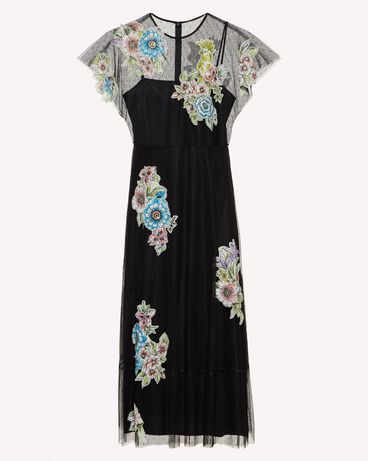 REDValentino RR0VA01XCFD 0NO Long dress Woman a