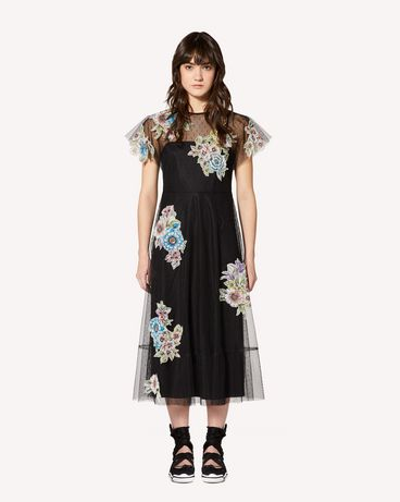 REDValentino RR0VA01XCFD 0NO Long dress Woman f