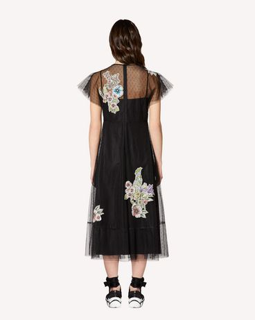REDValentino RR0VA01XCFD 0NO Long dress Woman r