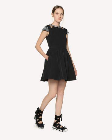 REDValentino RR3VAA5541E 0NO Короткое платье Для Женщин d