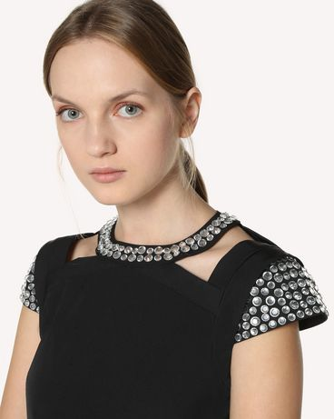 REDValentino RR3VAA5541E 0NO Короткое платье Для Женщин e
