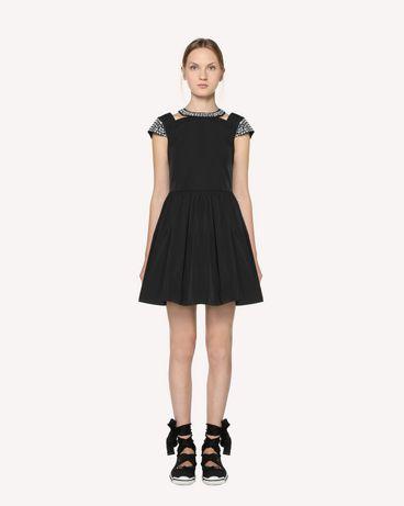 REDValentino RR3VAA5541E 0NO Короткое платье Для Женщин f