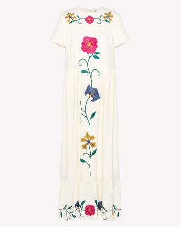 REDValentino RR0VA01NMJF 031 Long dress Woman a