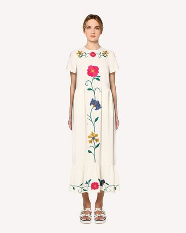 REDValentino RR0VA01NMJF 031 Long dress Woman f