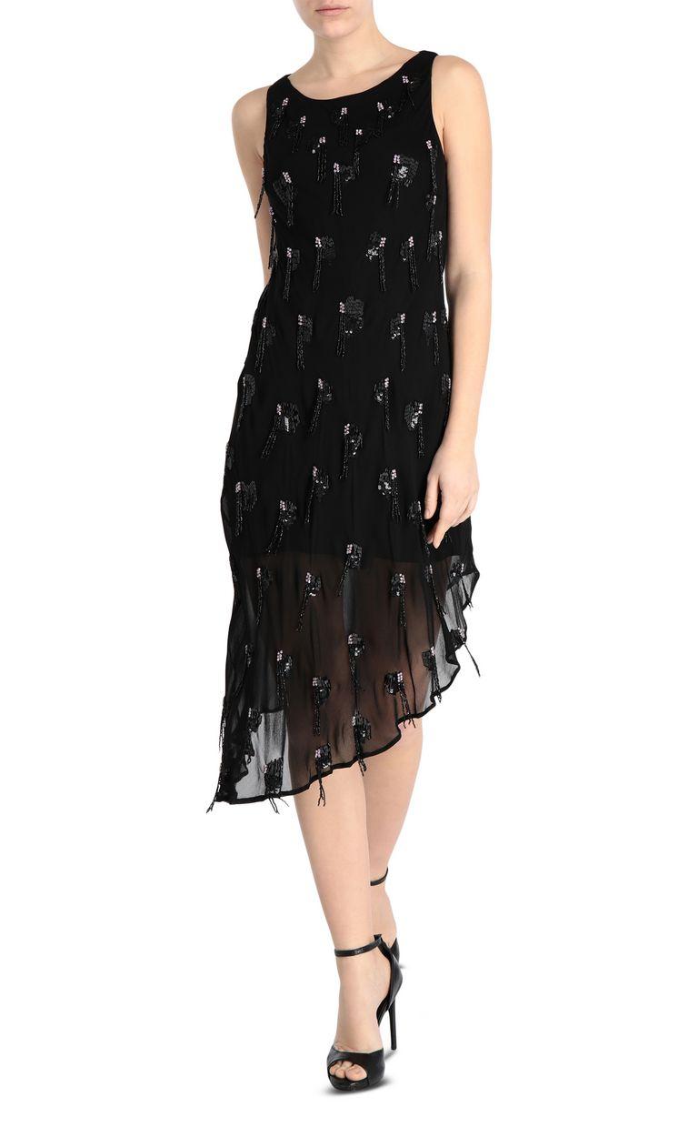 JUST CAVALLI Elegant embroidered dress 3/4 length dress [*** pickupInStoreShipping_info ***] f
