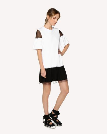 REDValentino RR0MJ01LWME A01 Short dress Woman d