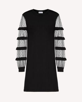 REDValentino Knit Dress Woman RR0KDA46QBE 0NO a