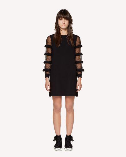 REDValentino Knit Dress Woman RR3KDA27KSU 0NO f