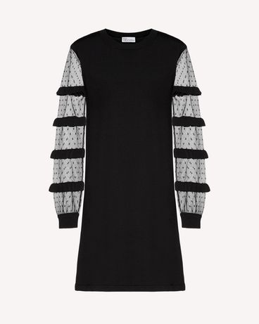REDValentino RR3KDA27KSU 0NO Knit Dress Woman a