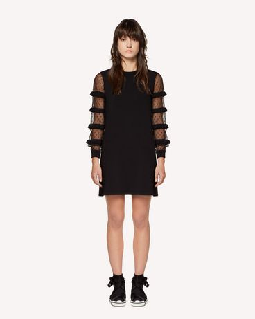 REDValentino RR3KDA27KSU 0NO Knit Dress Woman f