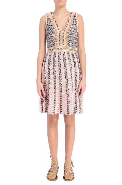 M MISSONI Dress Pink Woman - Back
