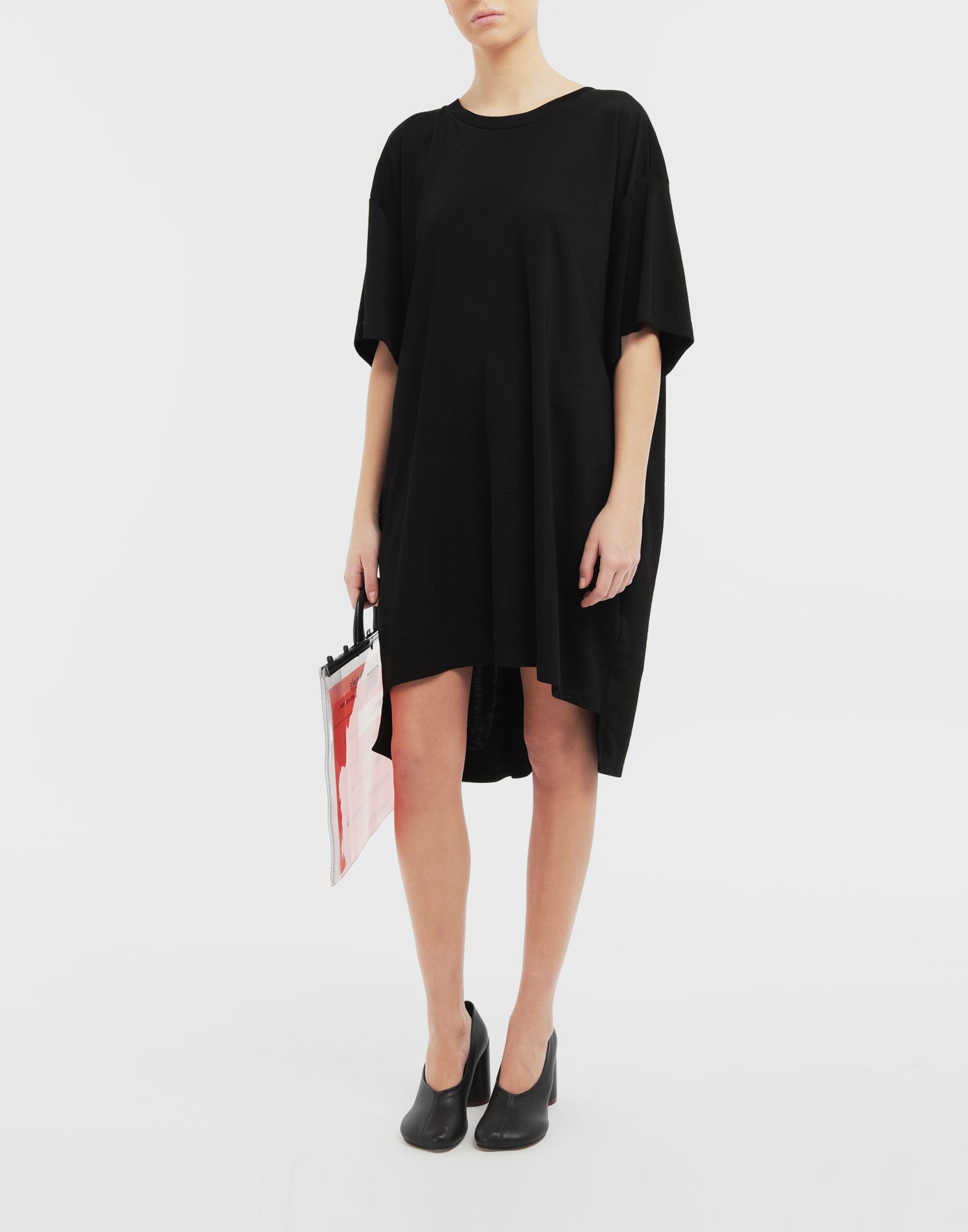 MM6 MAISON MARGIELA Dropped back T-shirt dress Short dress Woman d