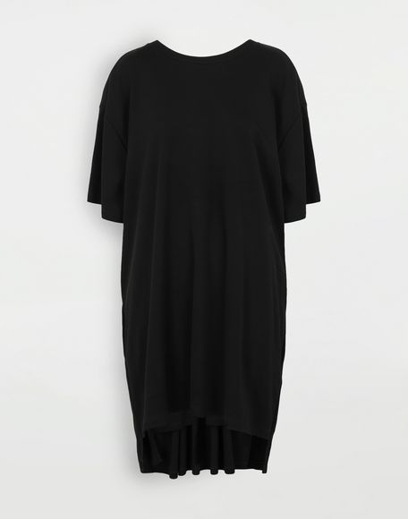 MM6 MAISON MARGIELA Dropped back T-shirt dress Short dress Woman f