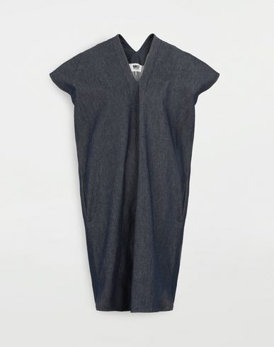 MM6 MAISON MARGIELA Denim dress Short dress Woman f